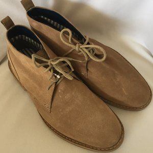 Denver Hayes 100% Suede Lace Up Chukka Boots 9.5